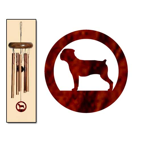 Boerboel Wind Chimes X-SMALL Bronze